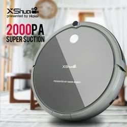 XShuai HXS-G1 Vacuum Cleaner Robot Wireless 2000PA Super Suction Auto Recharge Gyro Navigation Sweep Drag For Wood Floor Carpet