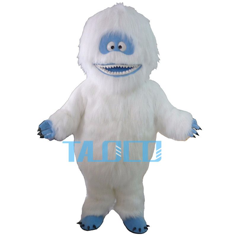 Factory Direct sale Yeti Abominable Snowman Mascot Costume Fancy Dress Free Ship