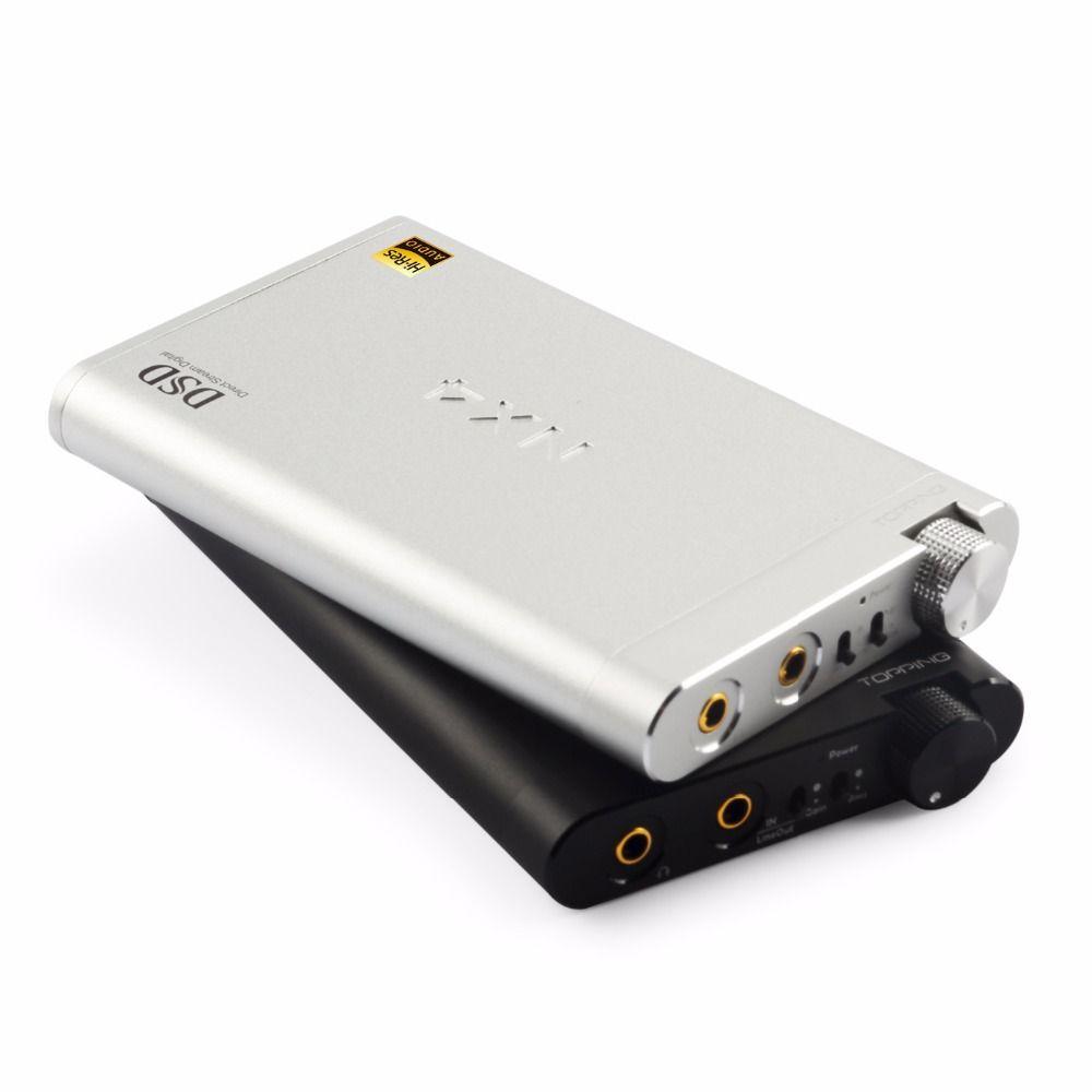 NEW TOPPING NX4 DSD fever HiFi portable decoding amp XMOS, ES9038Q2M, OPA2140 USB DAC decoder, DSD512 Headphone Amplifier