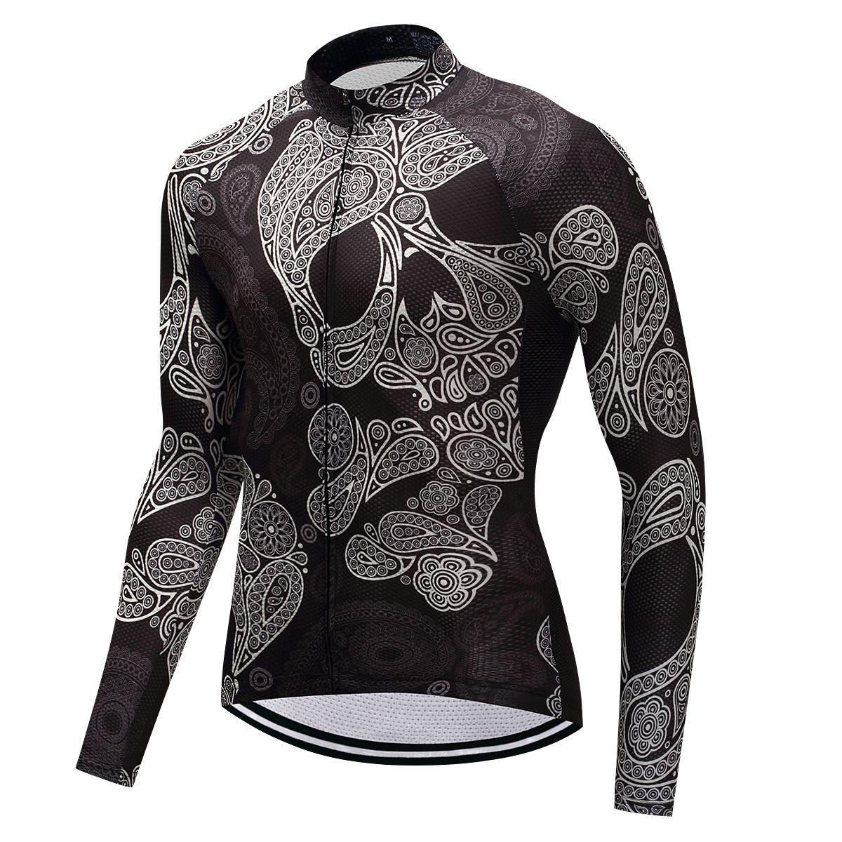Fualrny Warm 2018 Pro Winter Thermal Fleece Cycling Jersey Ropa Ciclismo Mtb Long Sleeve Men Bike Wear Clothing Maillot #ZR-06