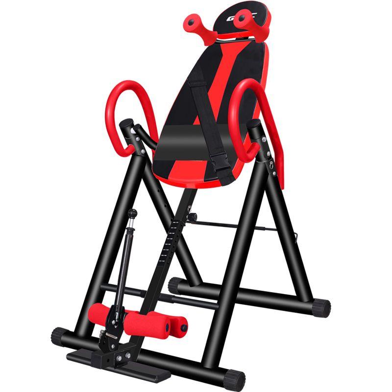 L52 Zurück Stretching Maschine Heavy Duty Inversion Tisch mit Schaum Rückenlehne & Lenden Pad Fitness Therapie für Back Pain Relief