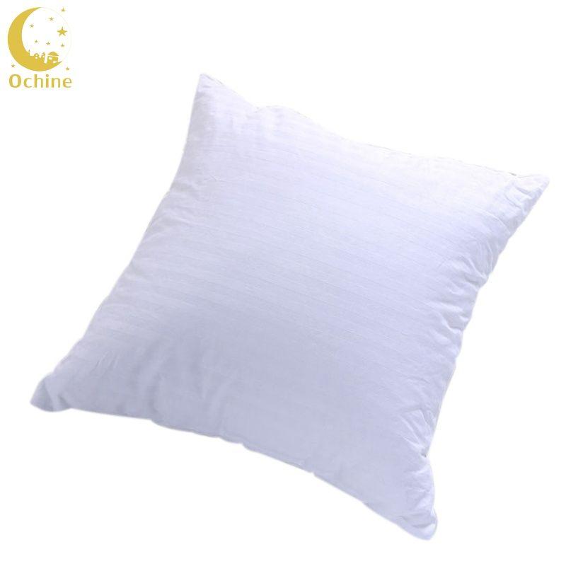 OCHINE 50*50 cm Cotton High Elasticity Pillows Cotton Surface Hypoallergenic Stuffer Pillow Insert Sham Square Form Polyester