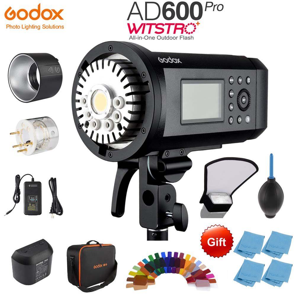 Godox AD600 Pro WITSTRO Alle-in-Einem Outdoor-AD600Pro Li-on Batterie TTL HSS mit Eingebaute godox 2,4g + Xpro Sender
