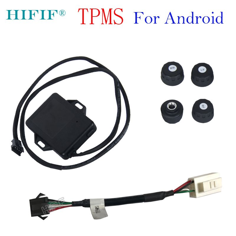 Special Hotaudio HIFIF brand TPMS Car Tire Pressure Monitoring System Car Tire Diagnostic-tool with Mini External Sensor