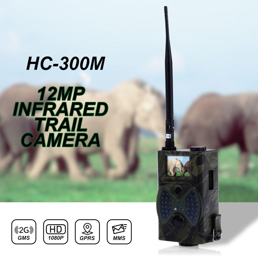 Outlife HC300M <font><b>12MP</b></font> 940nm Trail Cameras MMS GPRS Digital Scouting Hunting Camera Trap Game Cameras Night Vision Wildlife Camera