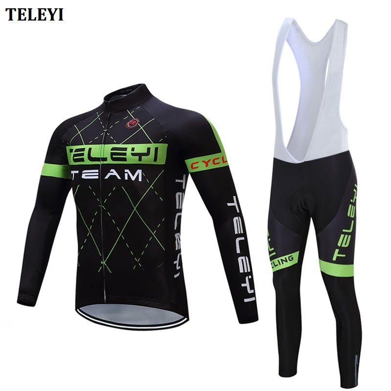 Herbst radfahren kleidung pro triathlon anzug mtb fahrrad jersey set 2018 männer rennrad kleidung kleid tragen sport skinsuit outfit