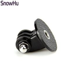 SnowHu for GoPro Accessories Mini  Monopod Tripod Holder Case Mount Adapter for Go Pro Hero 5 4 3+ SJ4000 Xiaomi yi Camera TP03
