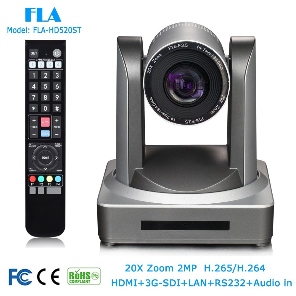 Chaude 2MP 1080 P HD-SDI 3G-SDI LAN 20X HD Onvif Vidéo Conférence Réunion Caméra Pour Tele-formation, Tele-médecine Système de Surveillance