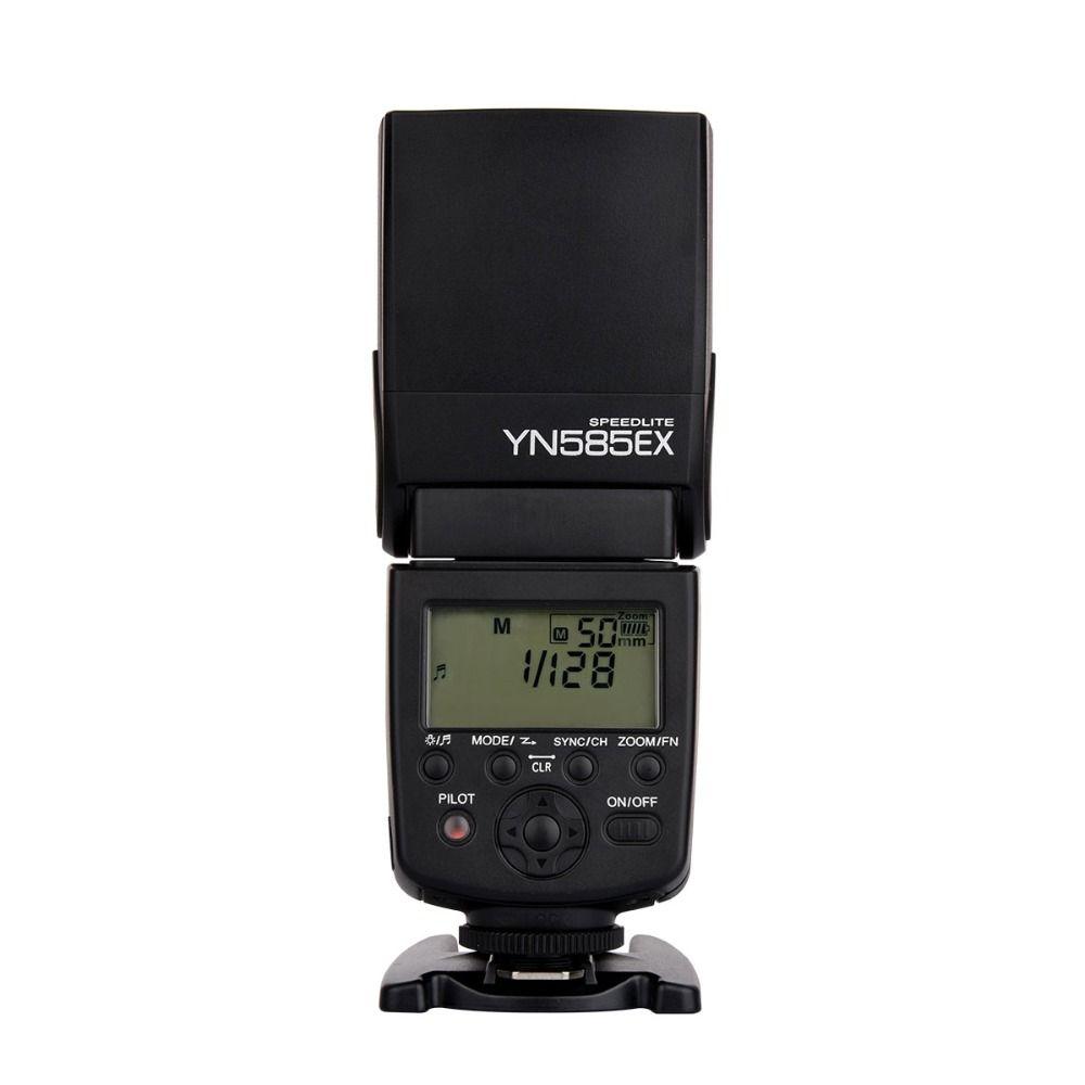 New listing Yongnuo Wireless Flash Speedlite YN585EX P-TTL for Pentax K3II K5 K50 KS2 K100 Camera