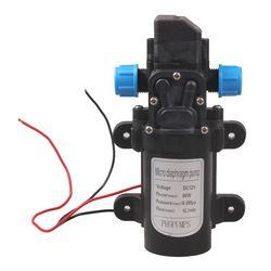 Micro Diaphragm Water Pump DC 12V 60W High Pressure Micro Diaphragm Water Pump Automatic Switch 5L/min