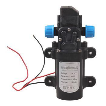 Micro Pompe À Eau À Membrane DC 12 V 60 W Haute Pression Micro Membrane Pompe À Eau Automatique Commutateur 5L/min
