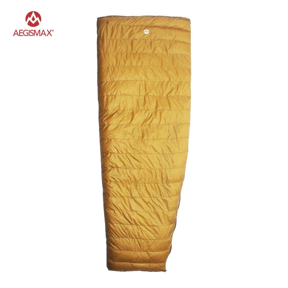 2 Degree Aegismax 800FP Goose Down Sleeping Bags Outdoor Camping Envelope Winter Autumn Sleeping Bag for Adult