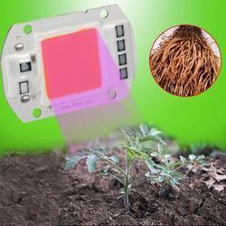 AKDSteel 110 В 220 В COB светодиодный чип Фито лампа полный спектр 20 Вт 30 Вт 50 Вт светодиодный Диод для выращивания растений Fitolampy для комнатных сажен...