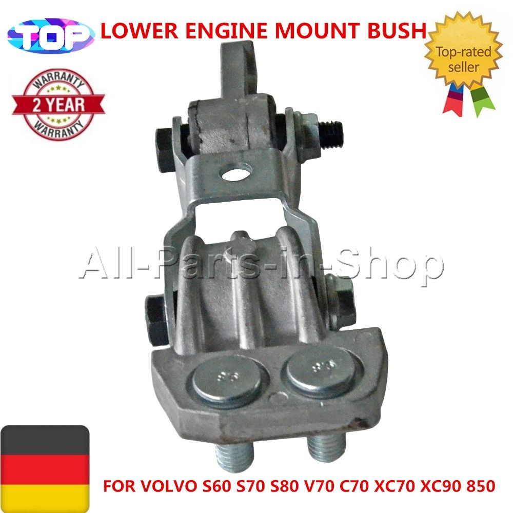 30680750 6842253 9141042 8659000 9485400 LOWER ENGINE MOUNT BUSH FOR VOLVO S60 S70 S80 V70 C70 XC70 XC90 850