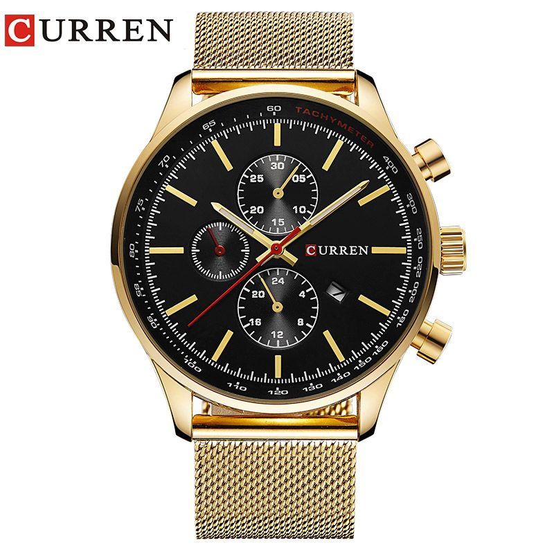 CURREN Watch Men Fashion Casual Full Sports Watches Relogio Masculino Business <font><b>relojes</b></font> Quartz watch 8227