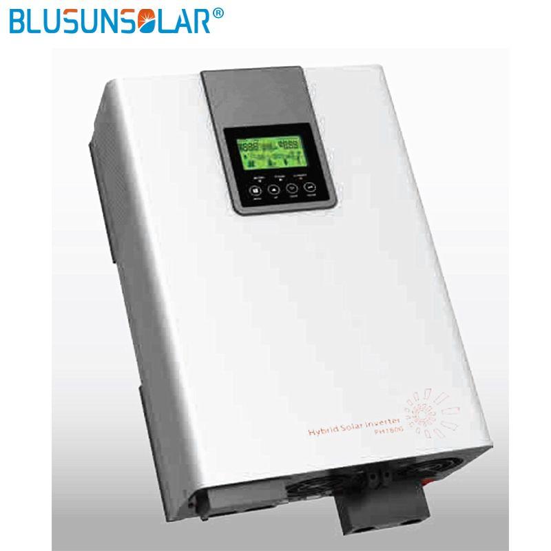 Hybrid Inverter 5000 watt 48V220V Grid Gebunden Inverter 80A MPPT Inverter Reine Sinus Welle Inverter 60A AC Ladegerät WIFI Monitor
