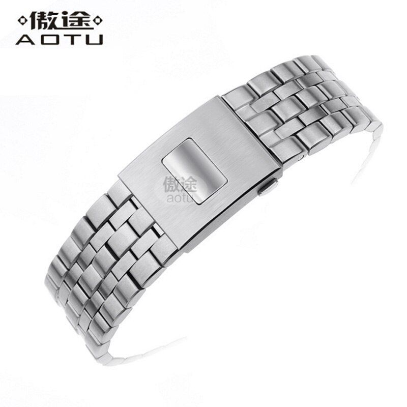 Stainless Steel Watchbands For IWC IW377704/01 PILOT'S/Mark Watches Strap Men Bracelet Top Brand Clock Belt Women Watchband