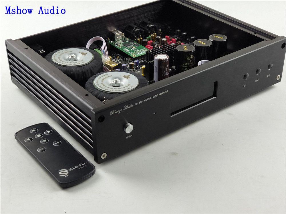 ES9038 ES9038PRO HIFI audio DAC decoder + high quality Toridal Transformers + remote control + Support XMOS XU208 Or Amanero USB