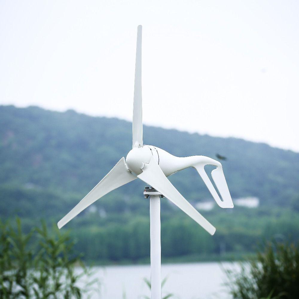 2018 VERBESSERTE 400 watt Wind Turbine Generator Drei oder Fünf Wind Klingen Option, 600 watt Wind Controller Geschenk, fit für Home Oder Camping