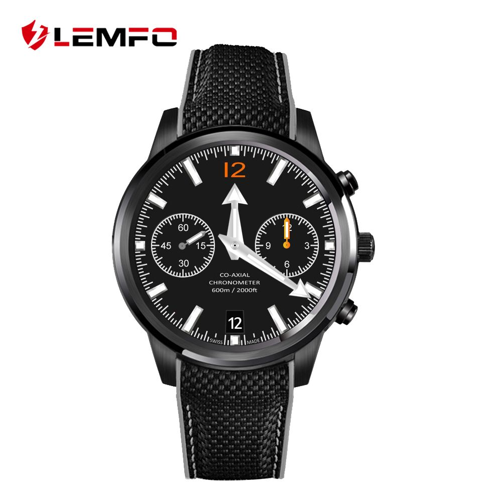 LEMFO LEM5 Android 5.1 OS Wrist Smart watch MTK6580 1.39