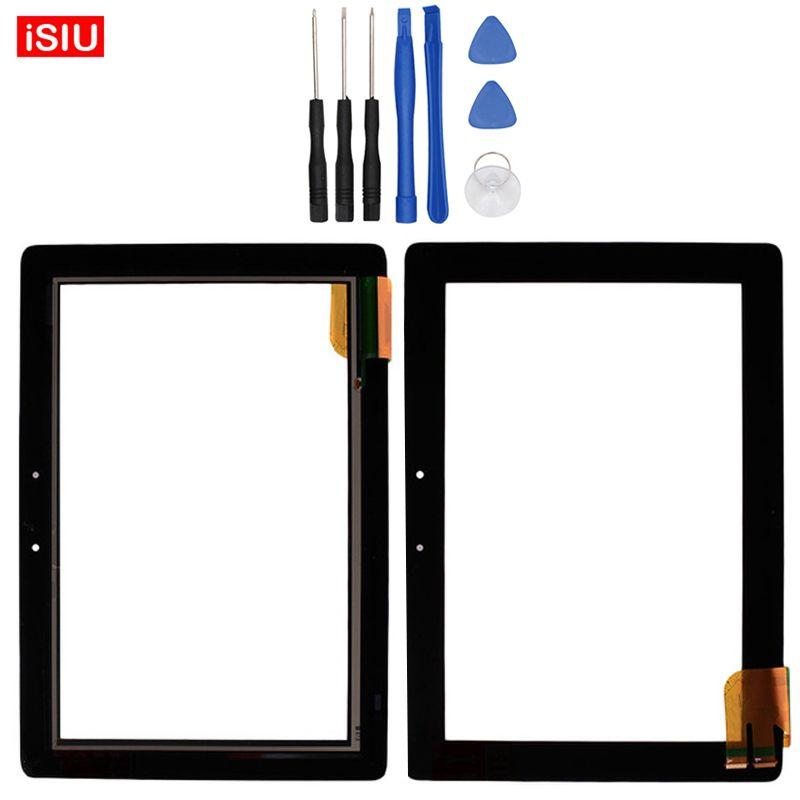 Neue 10,1 zoll Für ASUS Transformer Pad TF300 TF300T//TF300TG/G01 LCD Touchscreen Objektiv Glas Äußere Vorder Panel + Werkzeuge