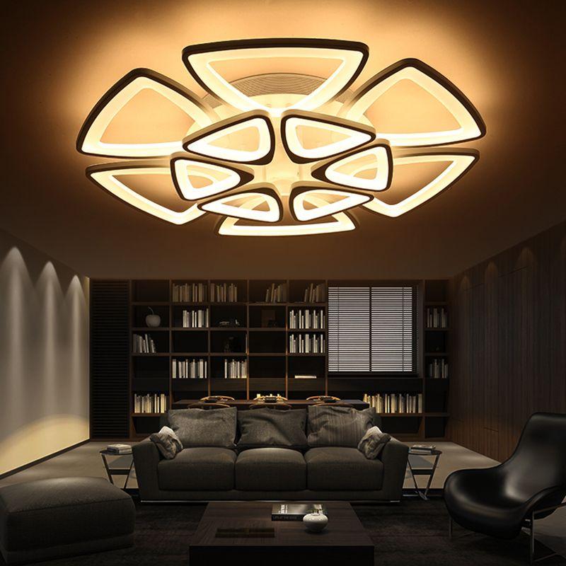 Minimalist Modern LED Ceiling Chandelier Lights for living room bedroom AC 85-265V Home Decorative Chandelier lamp