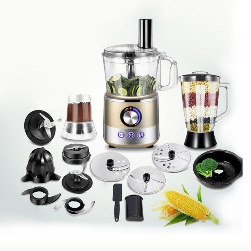 220 v Multifunktionale Voll-automatische Elektrische Entsafter Obst Entsafter Maschine Grinder Mixer Gemüse Slicer Pulver Grinder EU/AU /UK