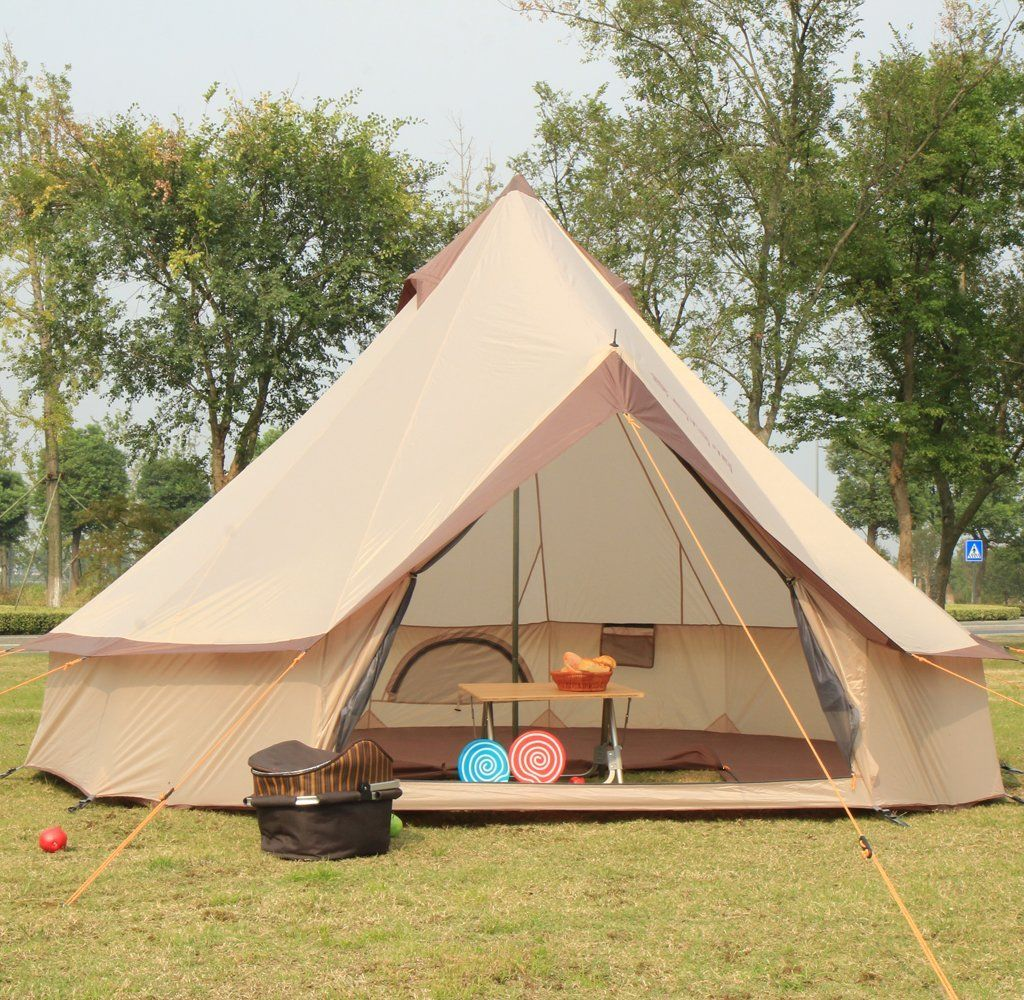 Large Camping Tent 8 to 12 Persons Fishing Hunting Adventure Family Party Tent 98.43 x 157.48 x 157.48 inches