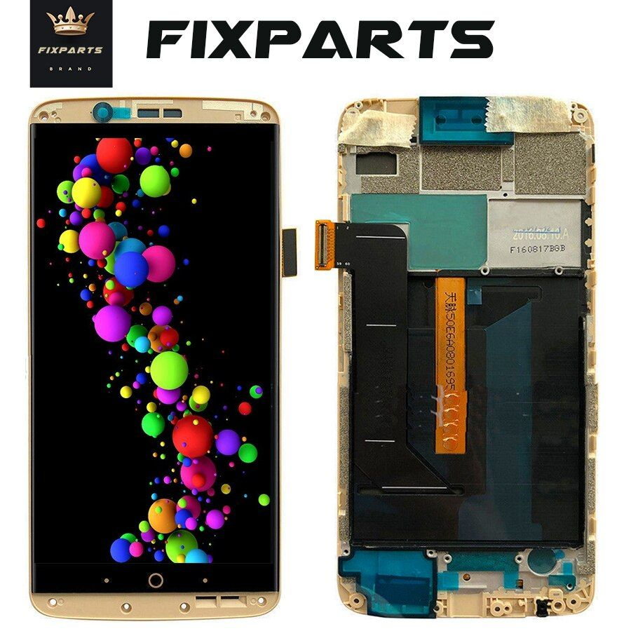 AMOLED Screen For ZTE Axon7 Axon 7 LCD A2017 A2017U A2017G Display Touch Screen Digitizer Aseembly Replacement For ZTE A2017 LCD