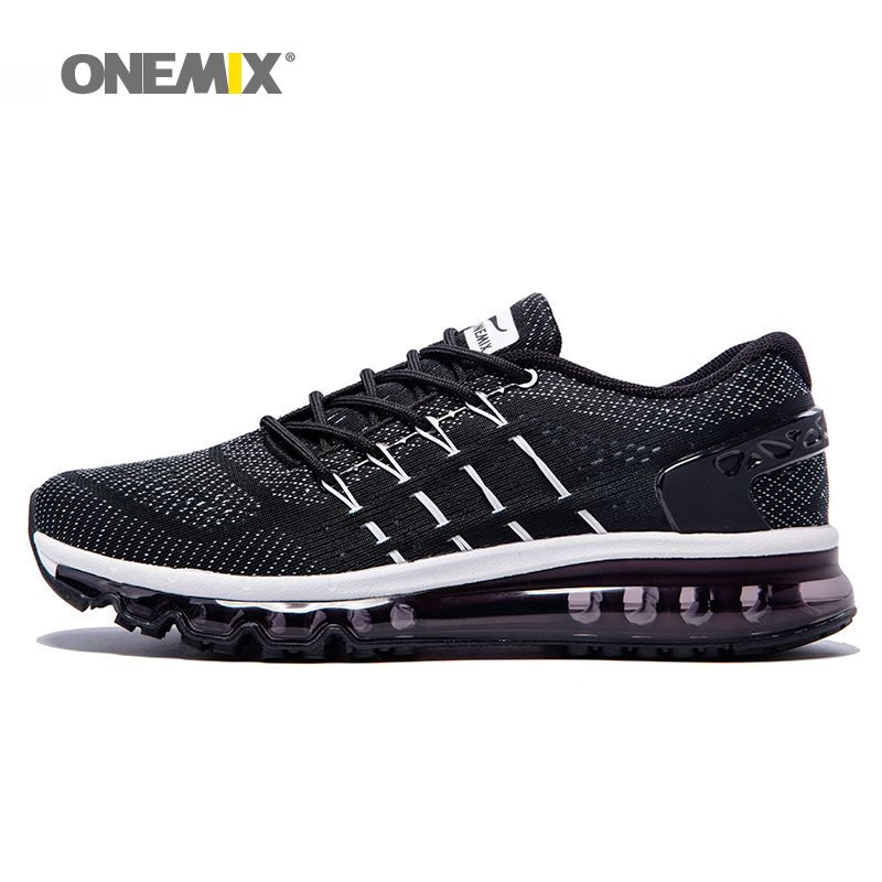 Onemix men's running shoes <font><b>cool</b></font> light breathable sport shoes for men sneakers for outdoor jogging walking shoe big size 39-47