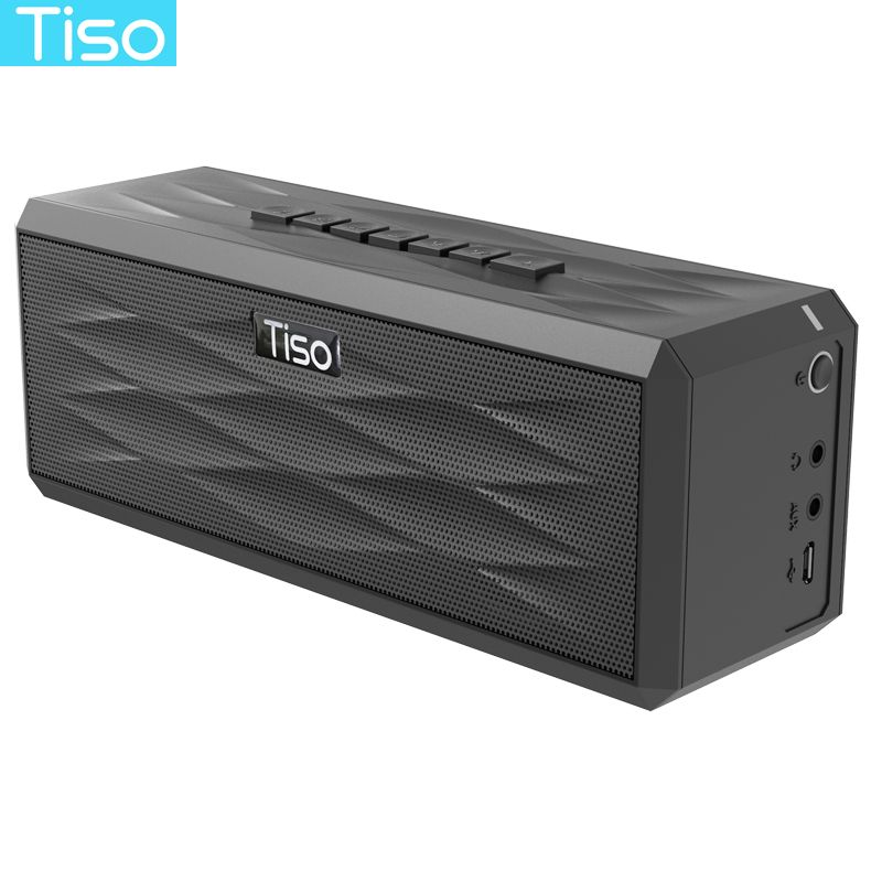 Tiso T20 20W loudspeakers and 5W tweeter output 3.1 channels wireless Bluetooth V4.2 speakers AUX home sound subwoofer system