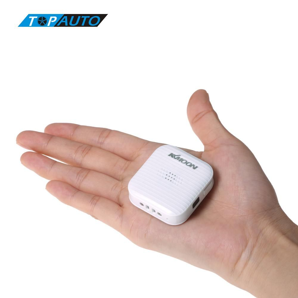 KKmoon Mini Portable Real Time GPS Tracker Car Vehicle GSM GPRS Tracking Device Anti-Lost Tracking Alarm Security System