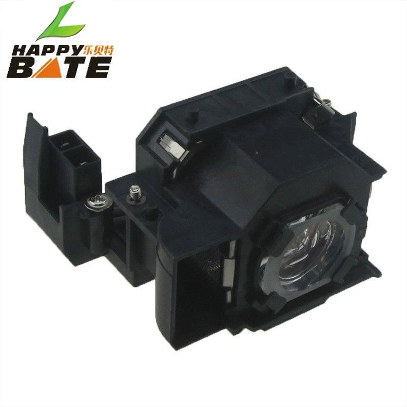Lampe de projecteur de remplacement HAPPYBATE ELPLP36/V13H010L36 pour PowerLite S4 EMP-S4 EMP-S42 avec boîtier garantie de 180 jours