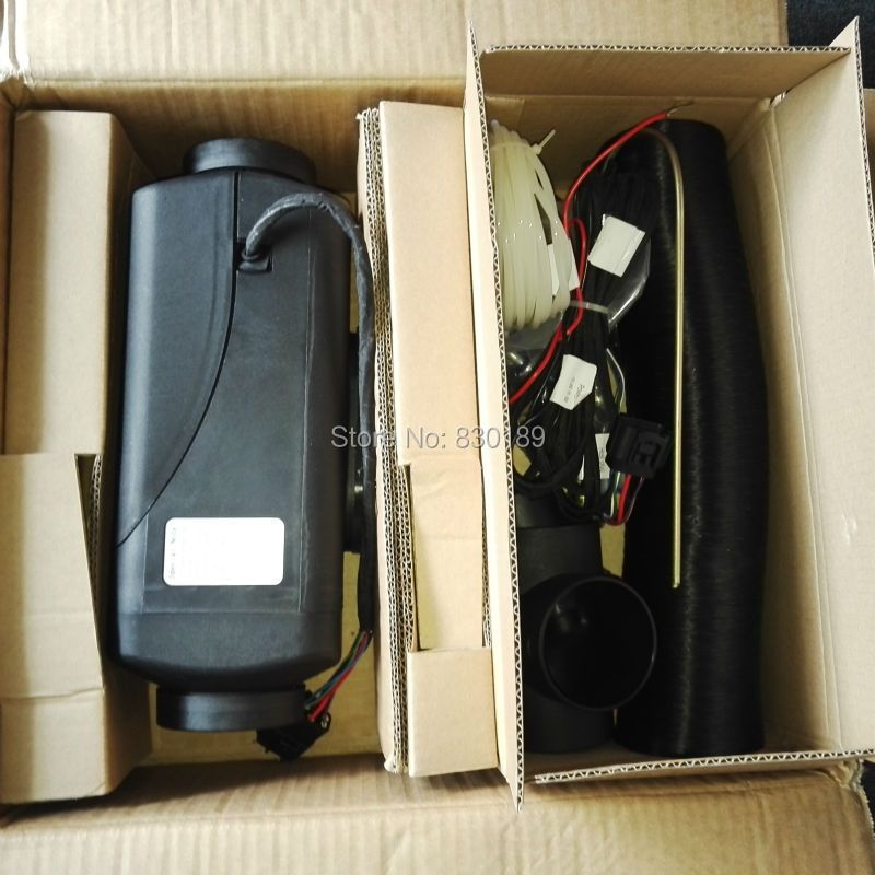 4KW 12 24V parking heater for Motor Home\ Boat, Van\ Caravan, truck \ bus - similar with Webasto & Eberspaecher AIRTRONIC D4.