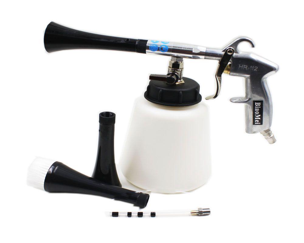 class Z-010 high quality high pressure silicone pipe tube black tornador gun for car wash tornado gun (rubber pusle)