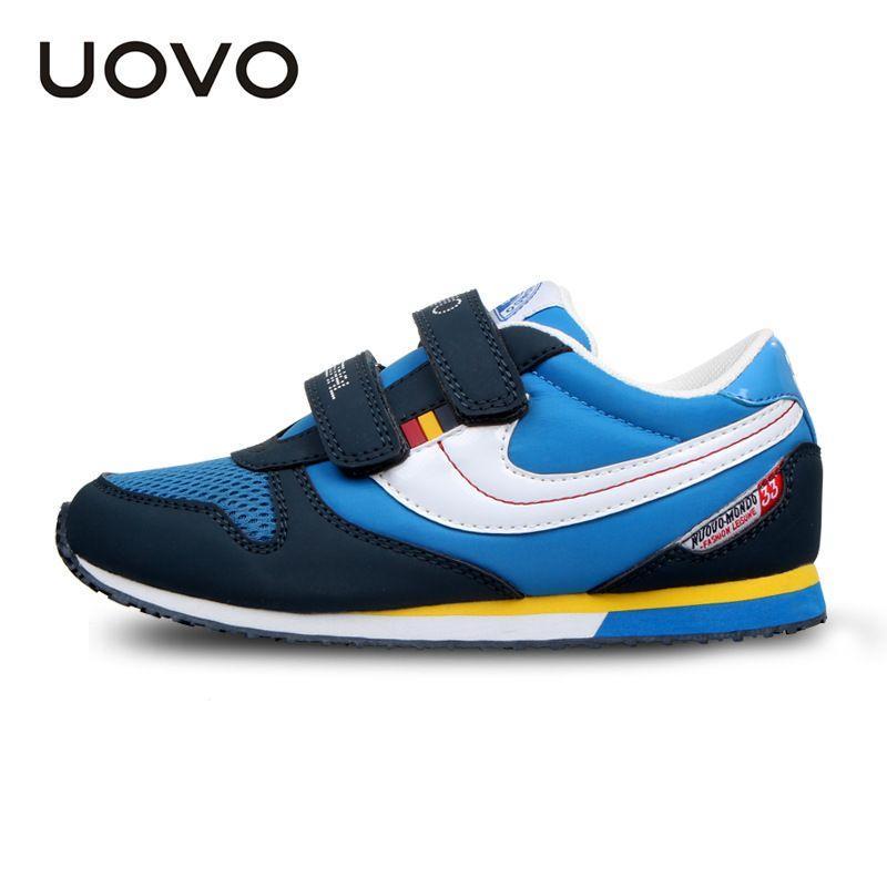 Uovo Красочные Спорт обувь для детей Бег обувь для девочек Tenis Infantil Обувь для мальчиков Обувь Chaussure Enfant Спортивная обувь