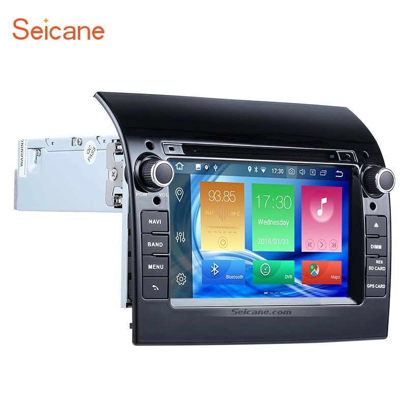 Seicane Aftermarket 7 inch Android 8.0 car DVD Player GPS Navigation System for 2007-2016 Fiat Ducato GPS Navigation System