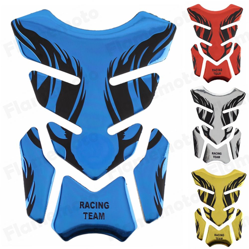 Blue Motorcycle Sticker Gas Tank Pad Stickers Decals Protecter for Suzuki GSX-R 600 750 1000 1100 1300