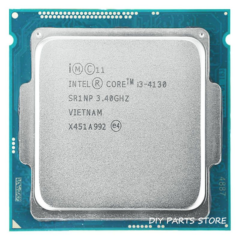 Intel core i3-4130 i3 4130 LGA 1150 3.40GHz DUAL-core 3.4MHZ RAM DDR3-1333, DDR3-1600 GPU HD4400