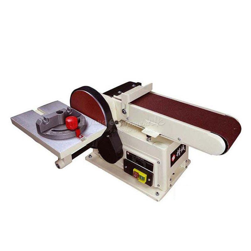 Vertikale typ schleif sand gürtel maschine polieren schleifen Gürtel mühlen kleine bank 915 Q10029