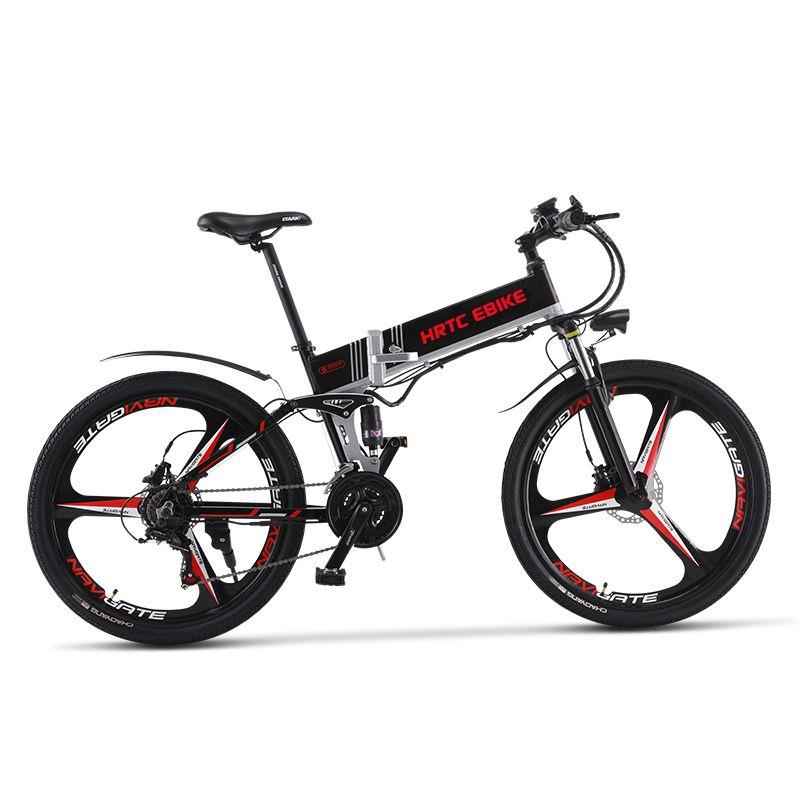 26 zoll elektrische mountainbike 48 V lithium-batterie versteckte rahmen 400 w high speed motor max geschwindigkeit 42 km/h weichen schwanz Hydraulische ebike