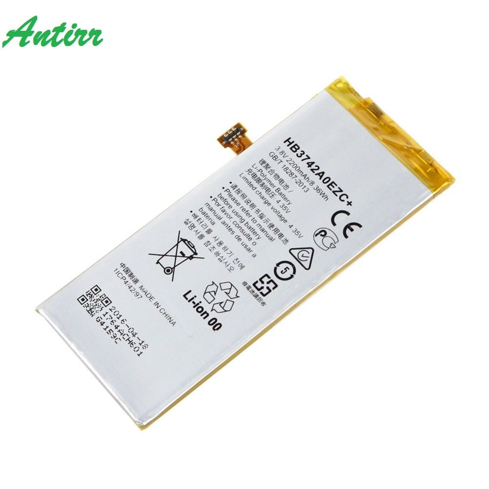 For Huawei P8 Lite Replacement Battery High Quality 3.8V 2200mAh Li-Polymer Battery For Huawei Ascend P8 Lite HB3742A0EZC+ #25