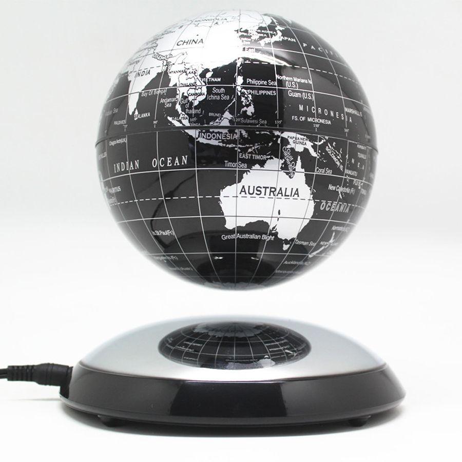 6 pouces créatif lévitation magnétique Globe flottant carte du monde le meilleur décor de bureau noël entreprise anniversaire cadeau