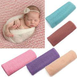 Newborn Baby Girl Boy Berongga Wraps Membedung Selimut Berpose Penutup Fotografi Prop kualitas super bayi lembut banket
