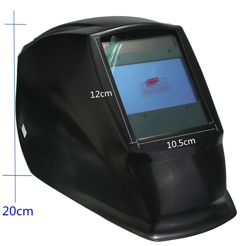 Best Price 4 Arc Sensor Big Sreen Solar LI Battery Auto darkening TIG MIG MMA MAG Electric Welding Mask/helmets/welder Cap
