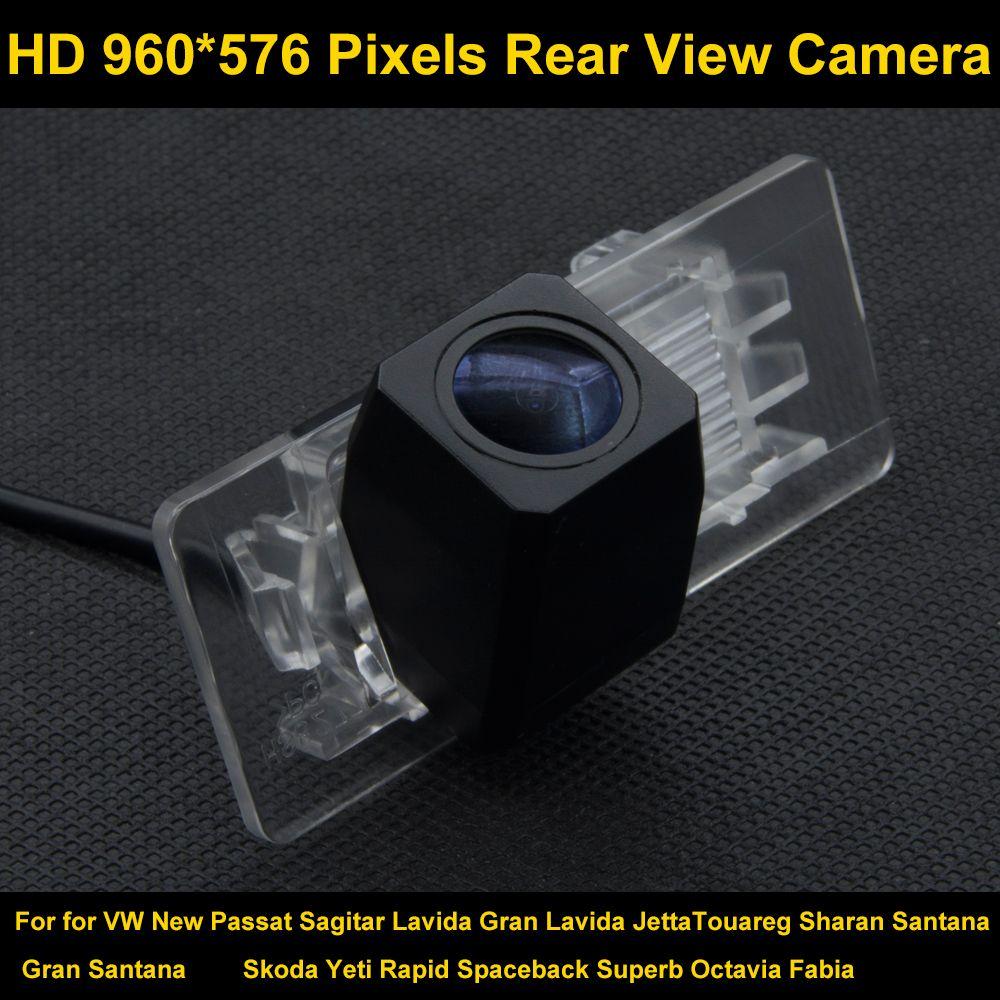 PAL HD 960*576 Pixels Parking Rear view Camera For VW New Passat Sagitar Lavida Gran Lavida Jetta Touareg Sharan Santana