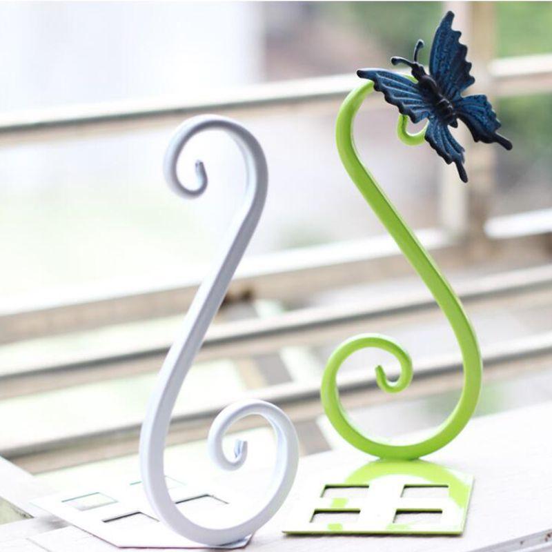 Fer Creative Livres Serre-livres Étagère Simple Et Élégant Swan Forme Livre Titulaire
