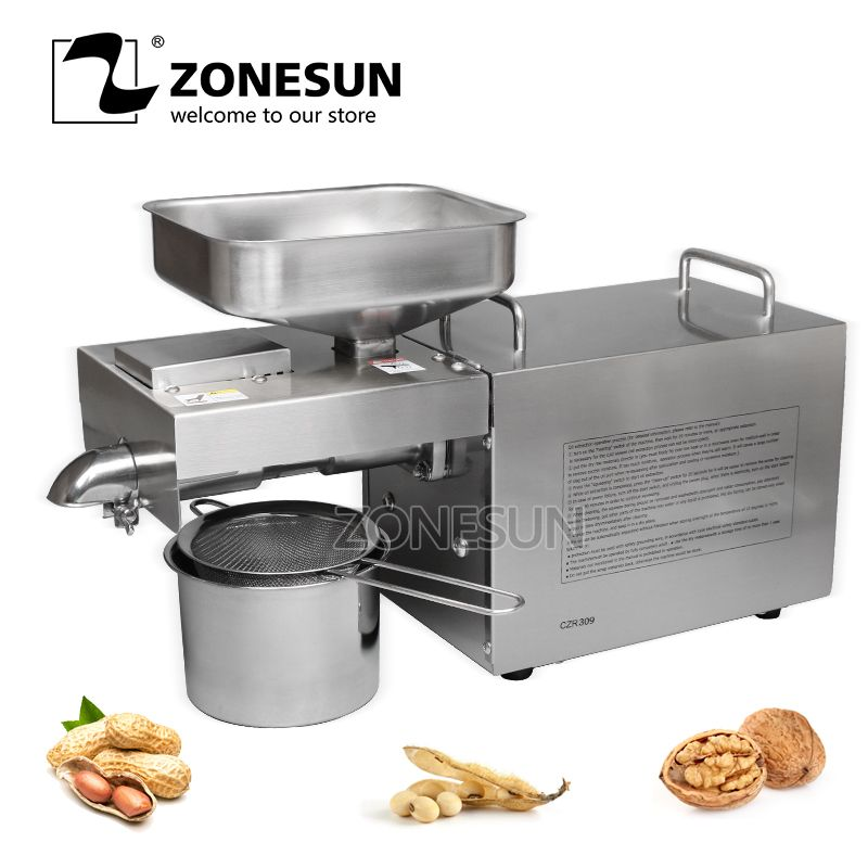 ONESUN  750W 1200W stainless steel material green food machine OP-168 peanut sunflower seed Oil press screw-type oil presser