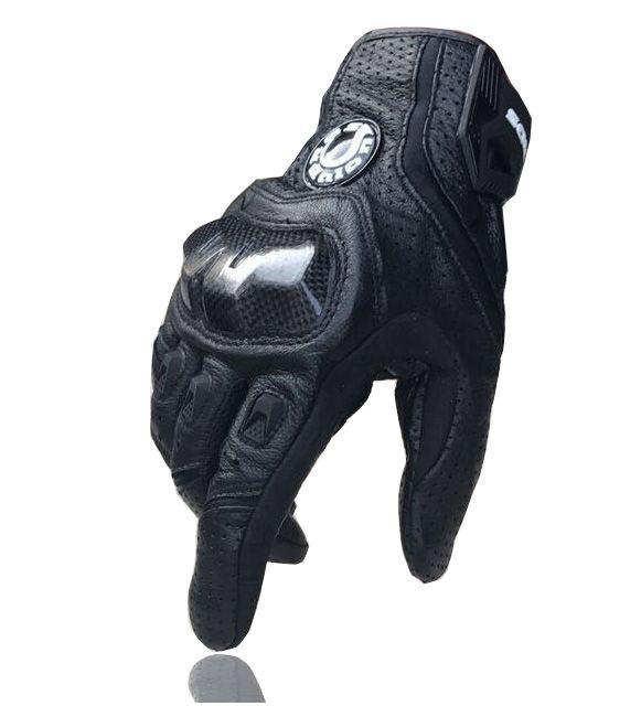 Offres spéciales nouveaux gants de moto Cool 390/gants de course/gants en fibre de carbone gants en cuir véritable