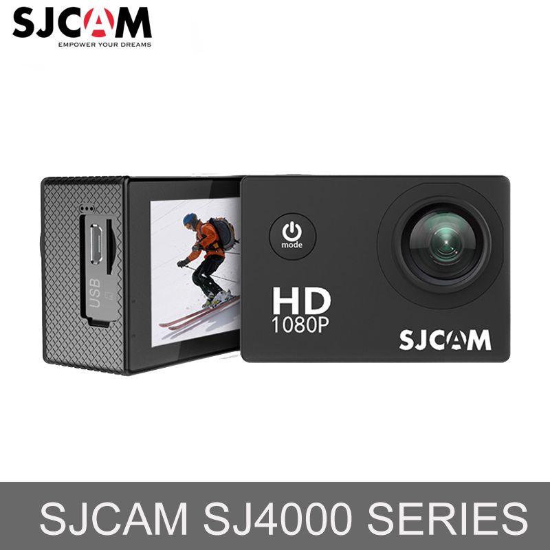 Original SJCAM SJ4000 & SJ4000 WiFi 1080P HD Sports Action Video Camera Waterproof Diving Action Camera Mini Recorder Drone Cam